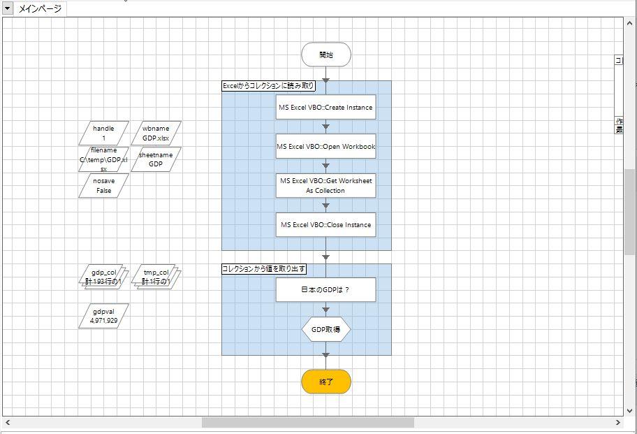 【Blue Prism入門】ExcelからデータをCollection(コレクション)に取得したあと、連想配列(Dictionary)みたいに使ってみよう